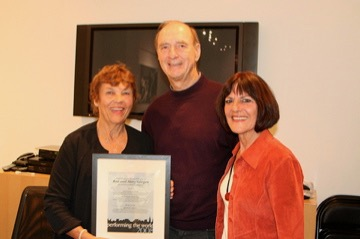Mary and Ken Gergen with Lois Holzman