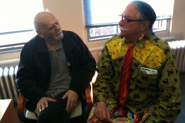 Fred Newman with Patch Adams